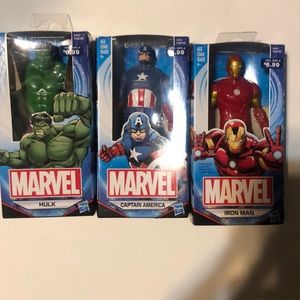 Set of 3 Marvel action figures